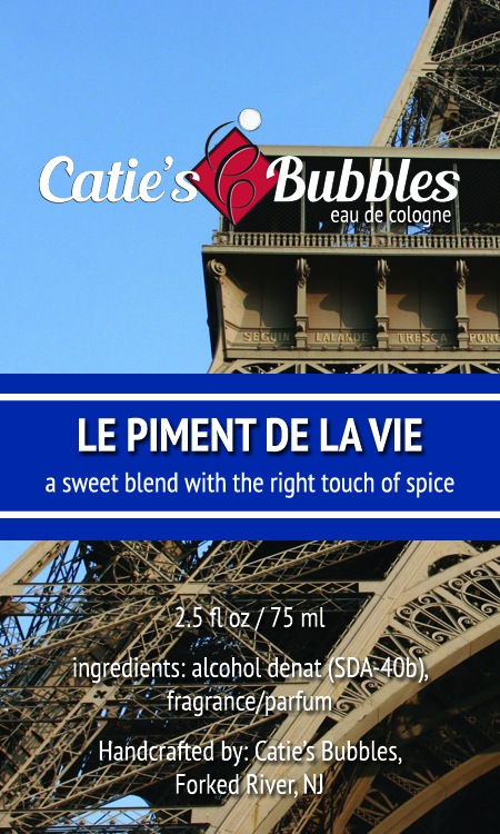 Le Piment de la Vie Eau de Cologne - Click Image to Close
