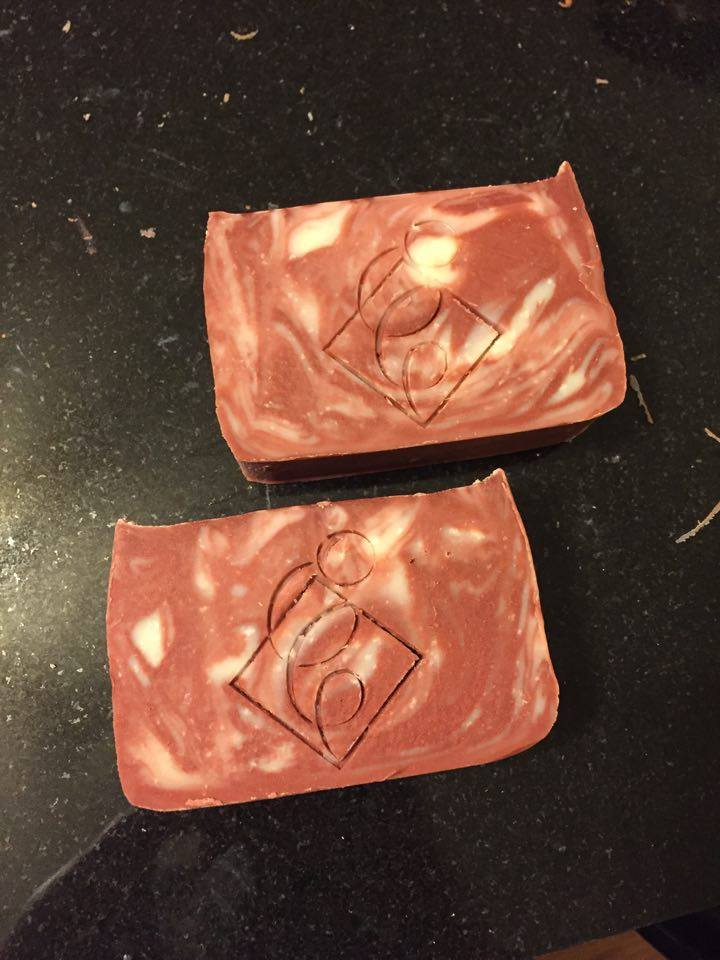 """Peppermint Swirl"" Bar Soap"