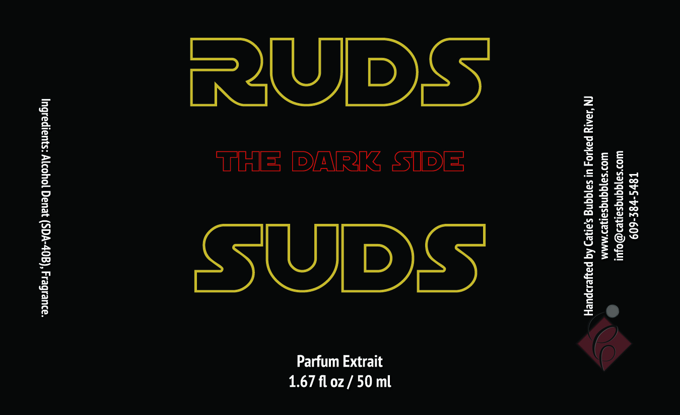 Ruds Suds The Dark Side Parfum Extrait