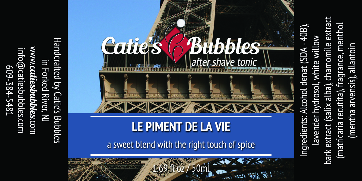 Le Piment de la Vie After Shave Tonic