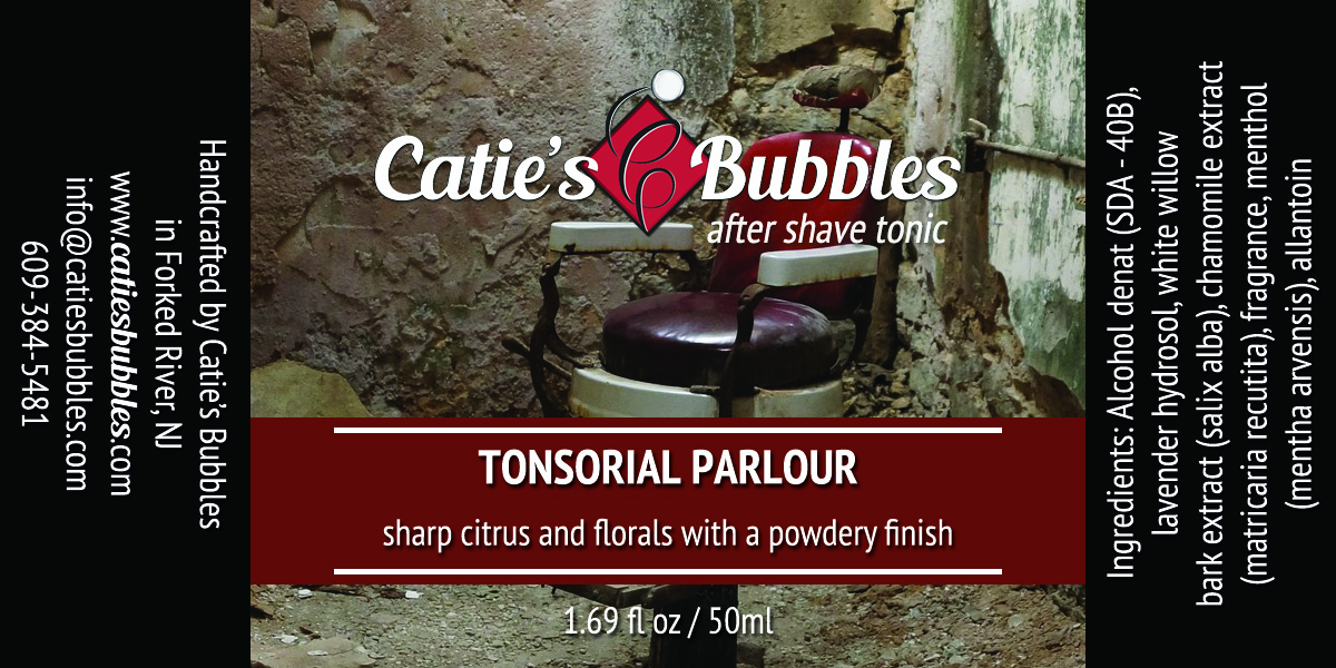 Tonsorial Parlour After Shave Tonic