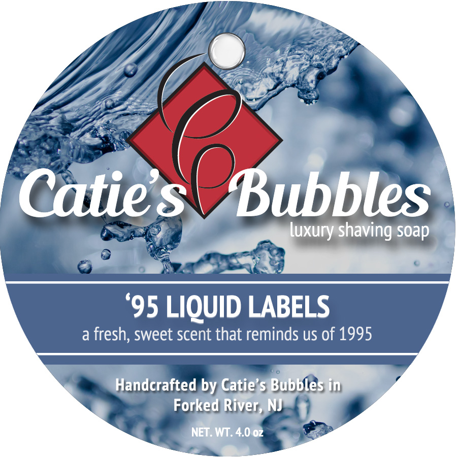 '95 Liquid Labels Luxury Shaving Soap