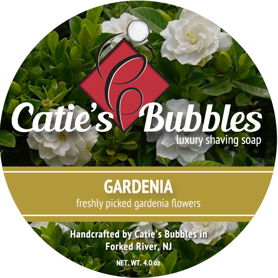 Gardenia Luxury Shaving Soap