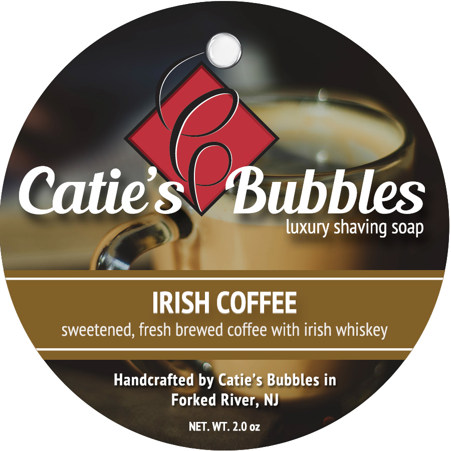 Irish Coffee Luxury Shaving Soap