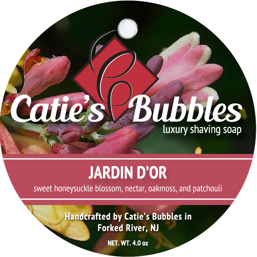 Jardin d'Or Luxury Shaving Soap