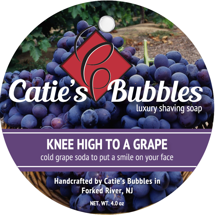 Knee High to a Grape Luxury Shaving Soap