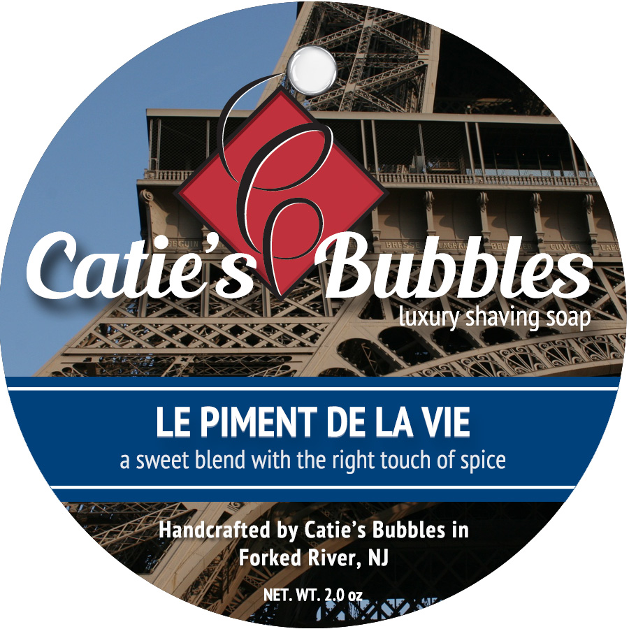 Le Piment de la Vie Luxury Shaving Soap - 2oz