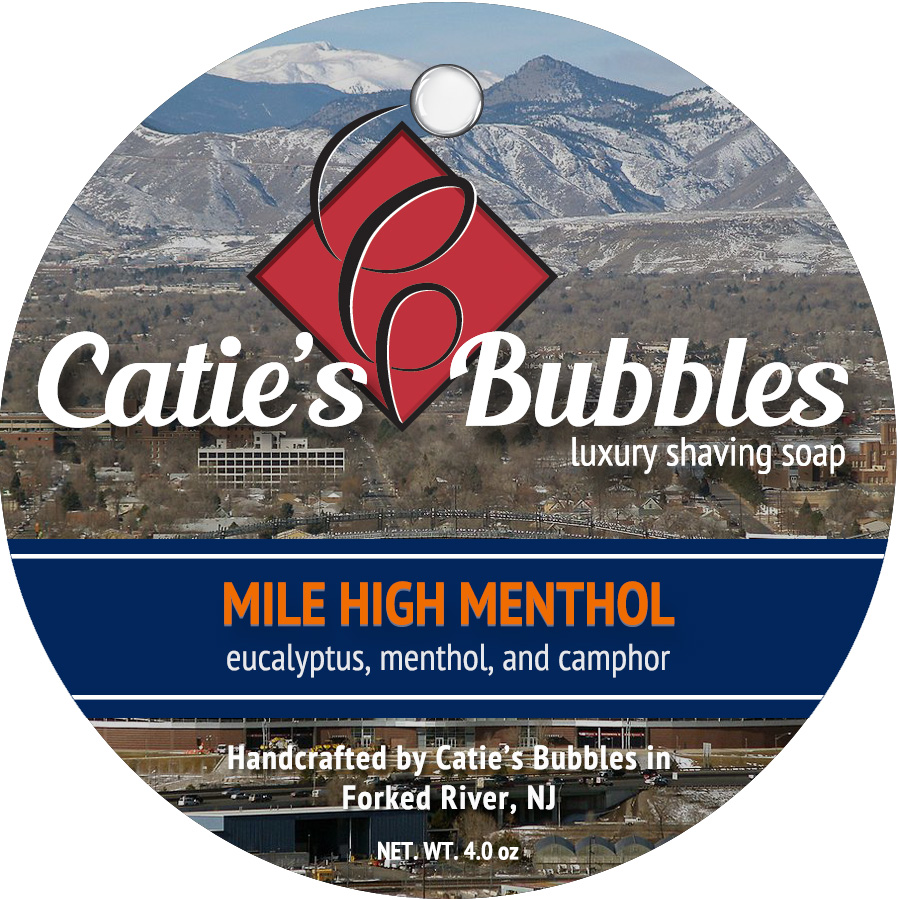 Mile High Menthol Luxury Shaving Soap