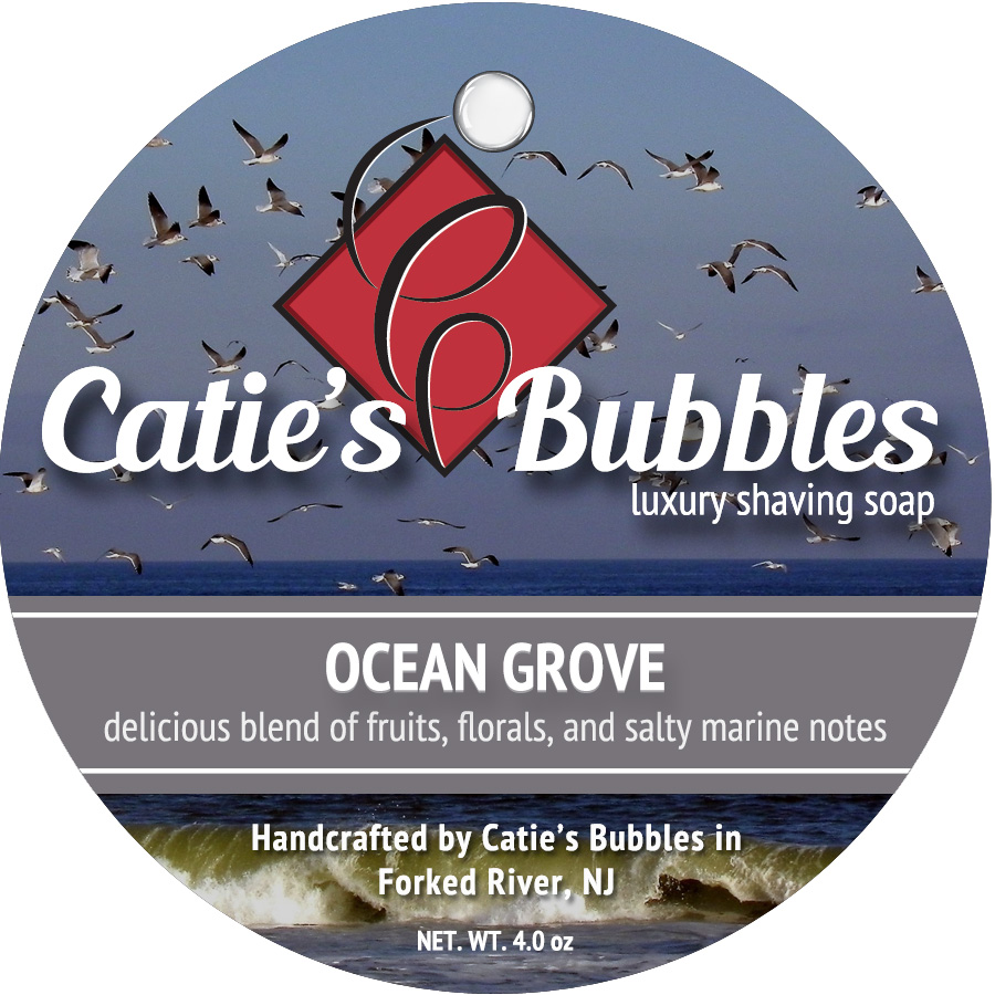 Ocean Grove Luxury Shaving Soap