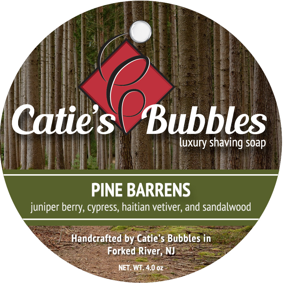Pine Barrens Luxury Shaving Soap