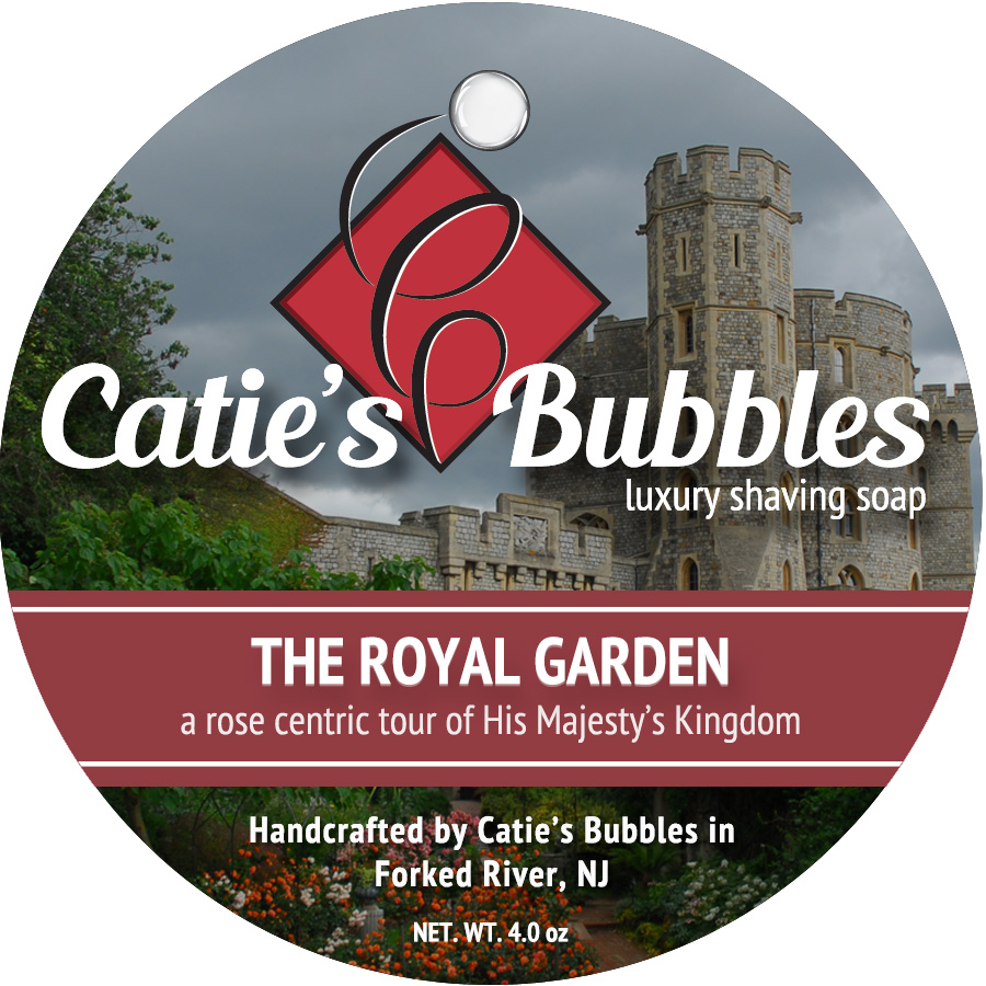 Royal Garden Luxury Shaving Soap