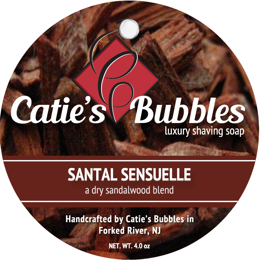 Santal Sensuelle Luxury Shaving Soap