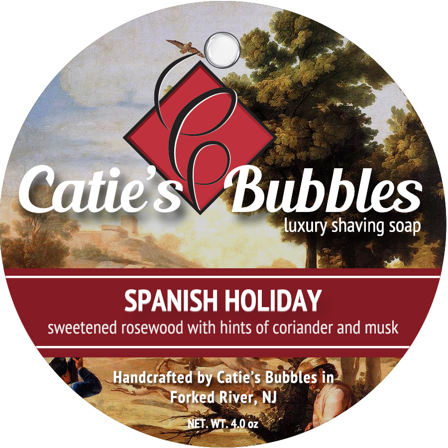 Spanish Holiday Luxury Shaving Soap