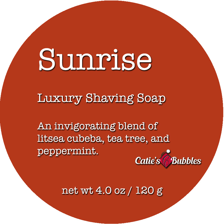 Sunrise Luxury Shaving Soap