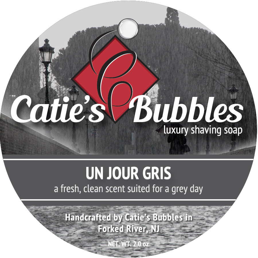 Un Jour Gris Luxury Shaving Soap - 2oz