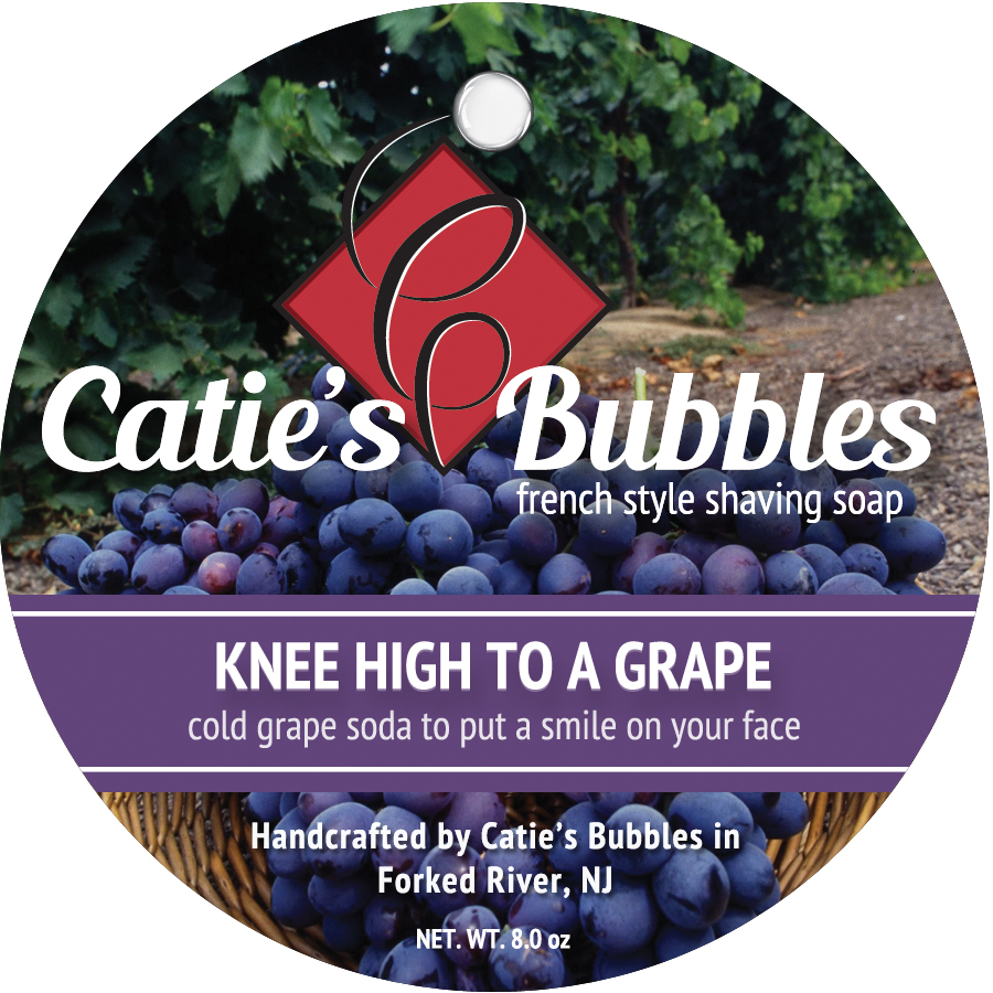 Knee High to a Grape Shaving Soap