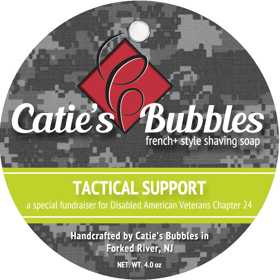 Tactical Support French+ Shaving Soap